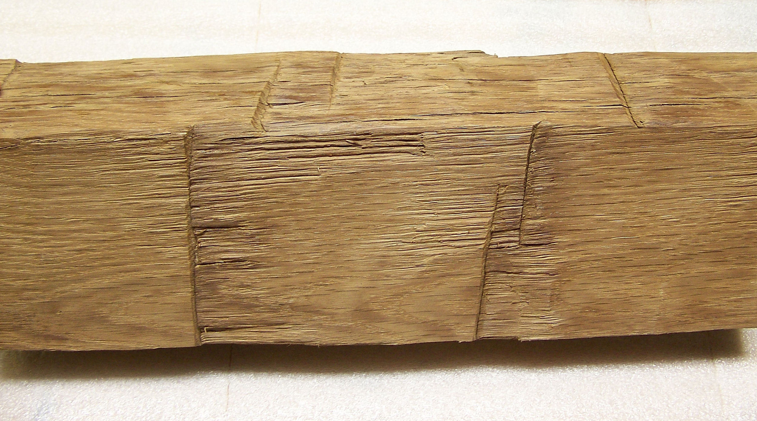 White Oak Hewn Timber