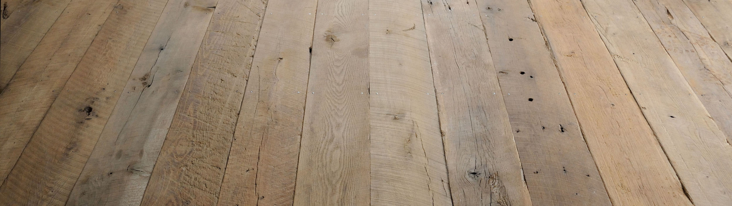 Original Face Antique White Oak Plank Floor