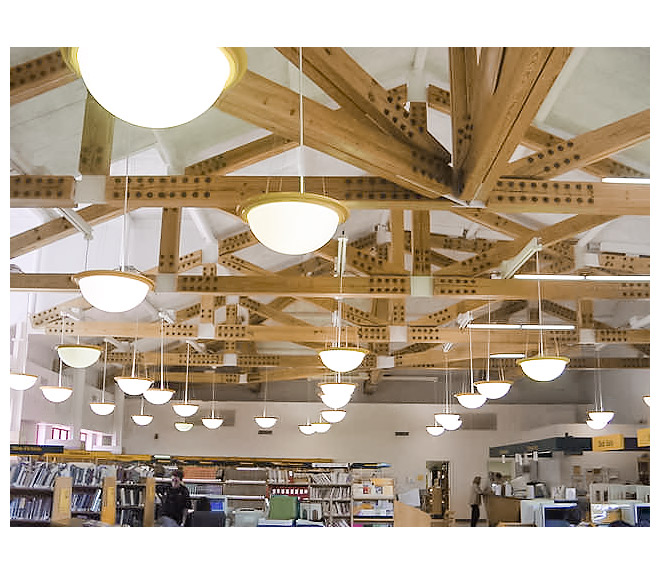 Flitch plate post and beam library