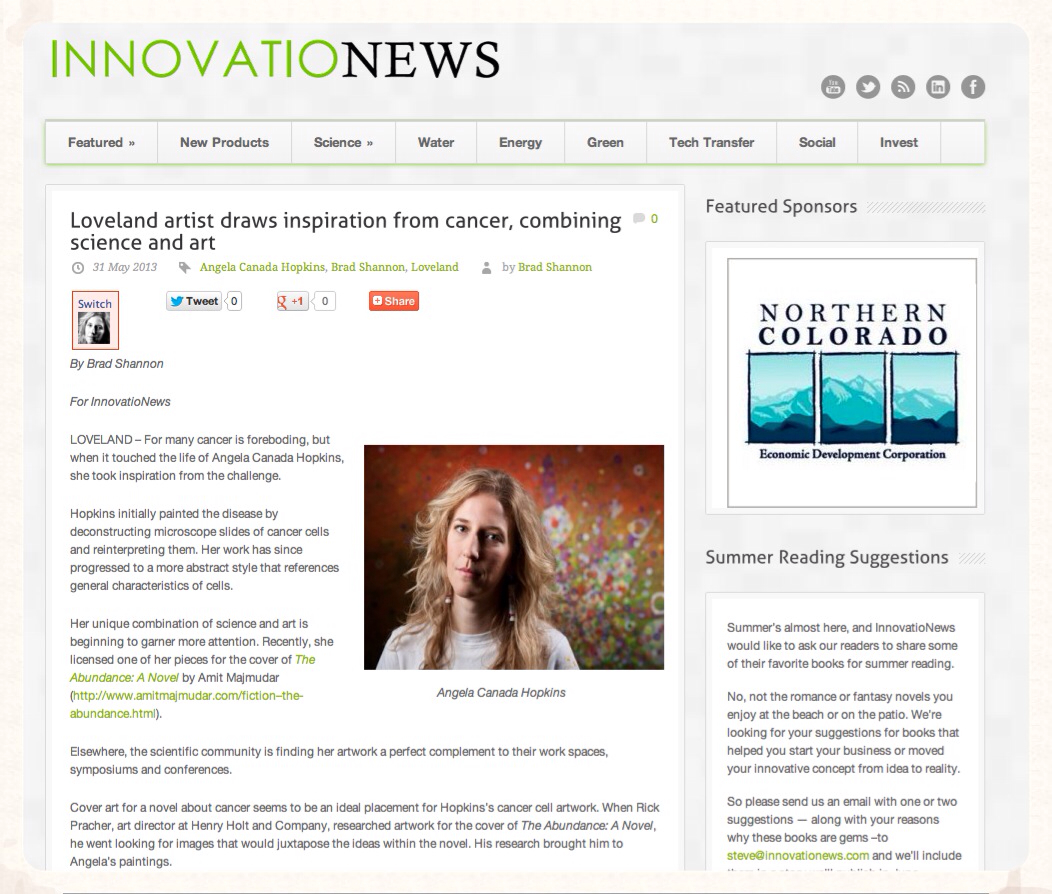 Article in Innovation News
