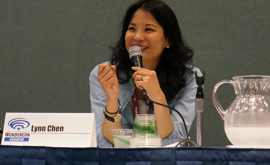 Speaking at  WonderCon  - Photo by  Dianne Garcia