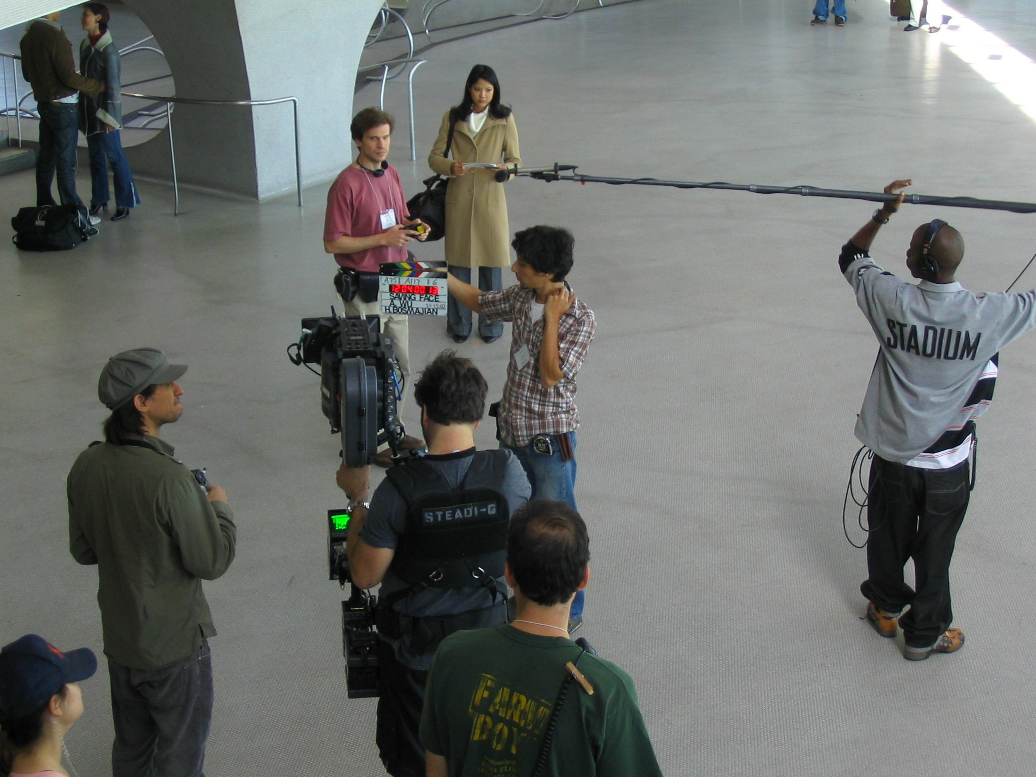 Saving Face Airport JFK BTS.jpg