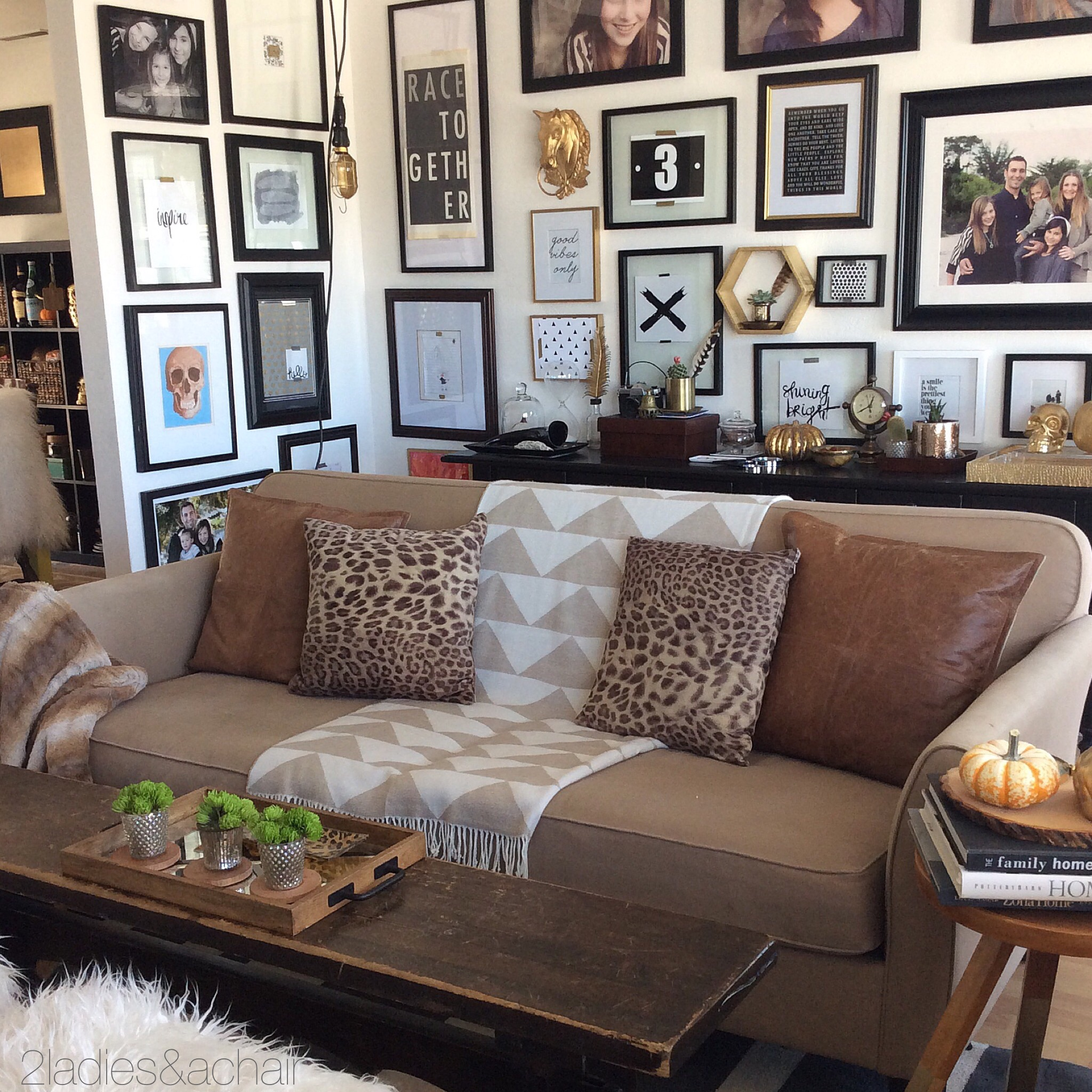 Sofa and Wall Gallery