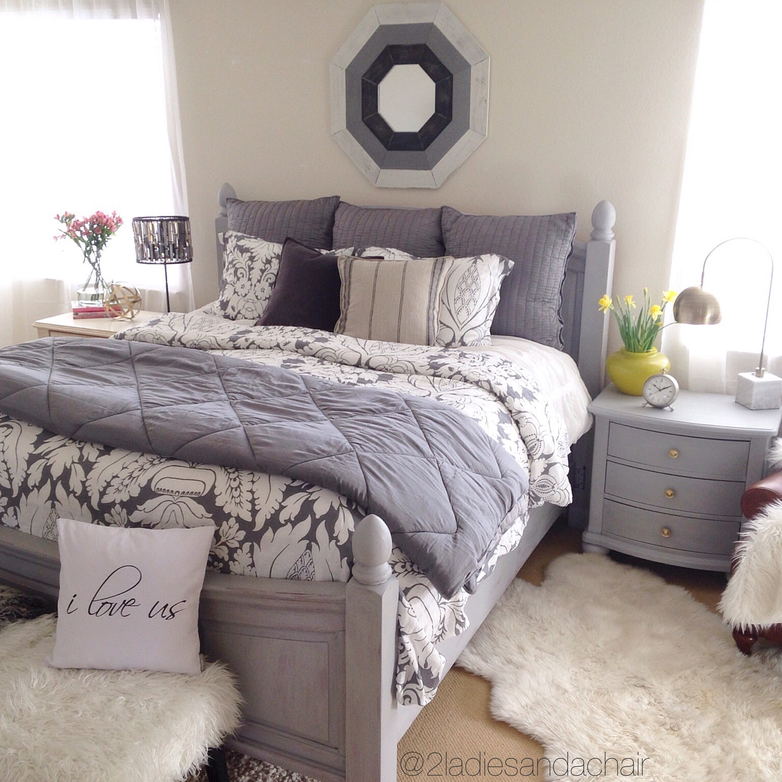How To Quickly Redo Your Master Bedroom 2 Ladies A Chair