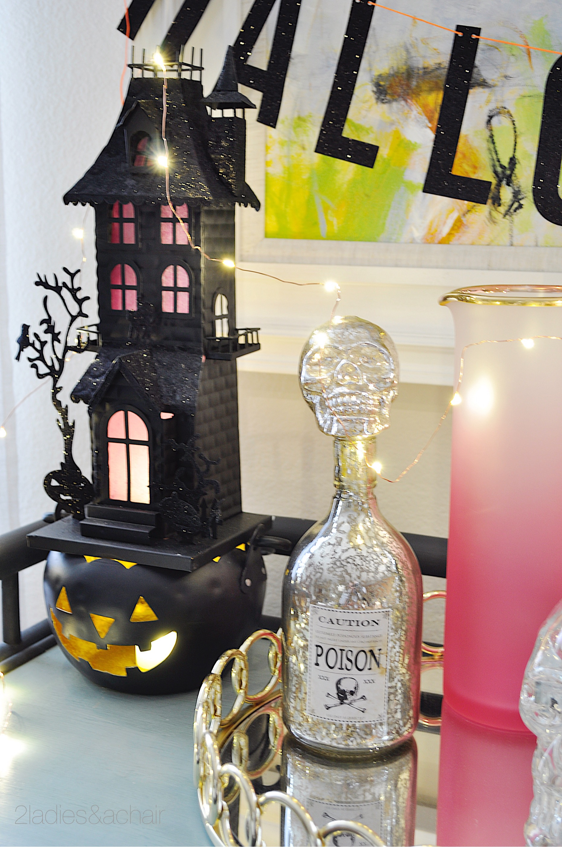 Bar Cart Decorating Ideas For Halloween 2 Ladies A Chair