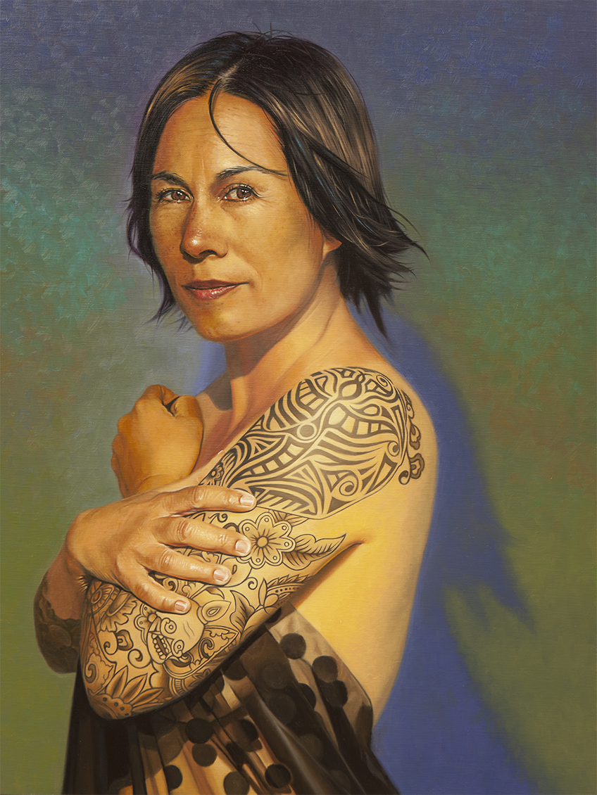 """THE POWER OF VULNERABILITY - 24""""X18"""" - Oil on Linen. Contact  Nadine Robbins  for more information"""