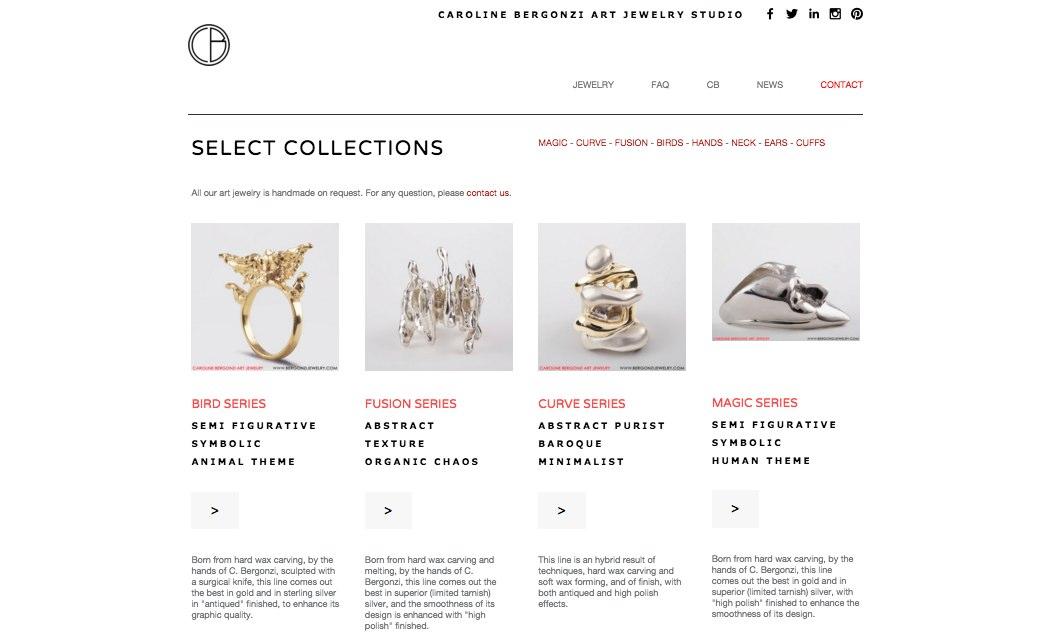 Jewelry online store.