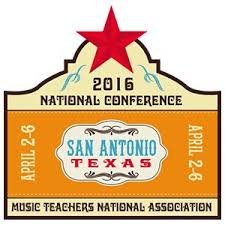 """- Back to Basics: A Complete Guide to RMM Teaching. Session on apps Chromatik and Chord Tracker. Pedagogy Saturday: Recreational Music Making, April 2, San Antonio, TX.More than """"Do-re-mi"""": How awareness of solfege styles supports an inclusive classroom. Session presented with MTNA UT Austin Chapter. April 4, San Antonio, TX."""