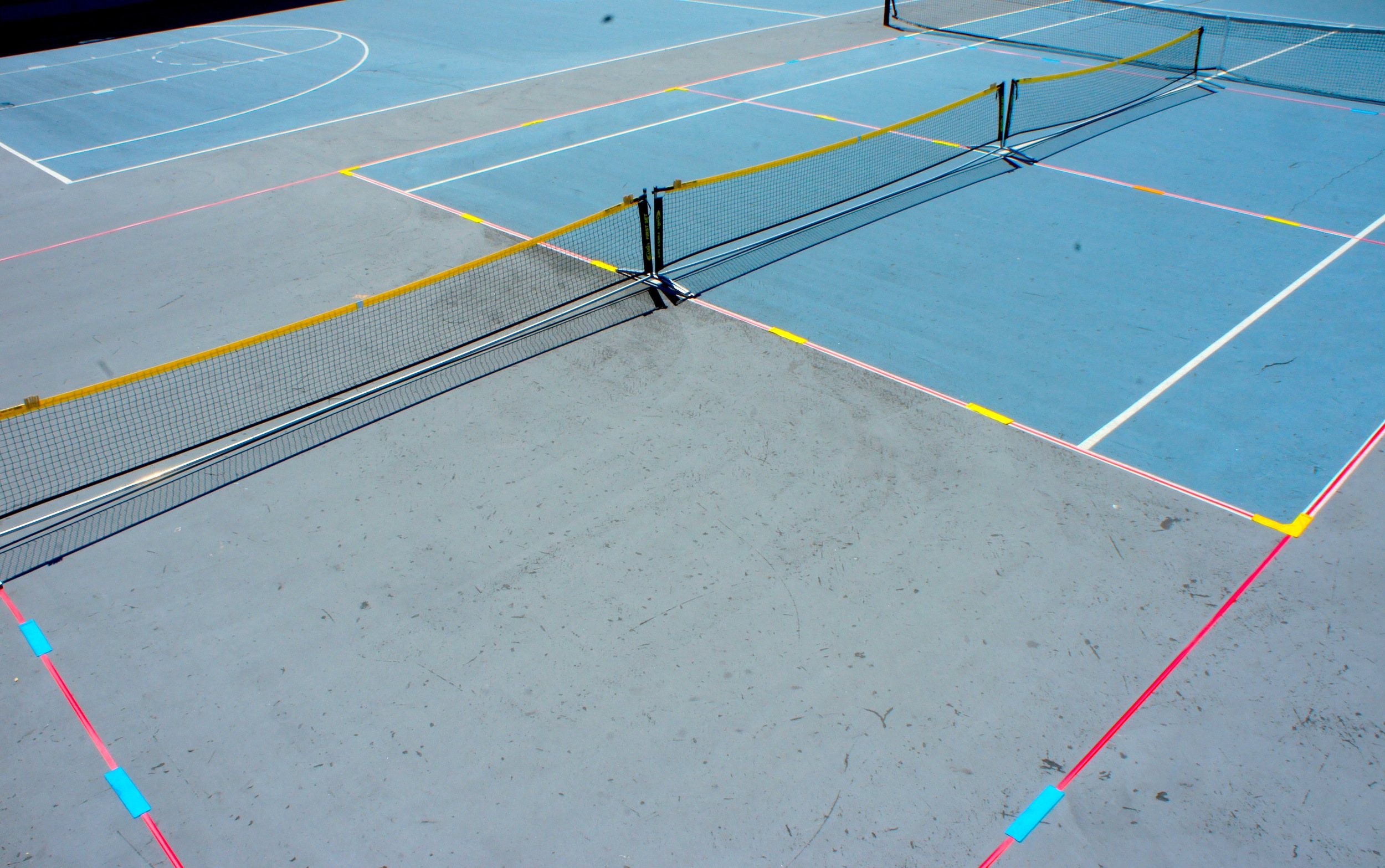 ANTS Size Tennis Courts