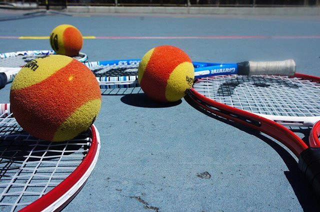ANTS Tennis teaches healthy habit development during our programs. By utilizing modified equipment we are able to empower children through their successes on and off the court!