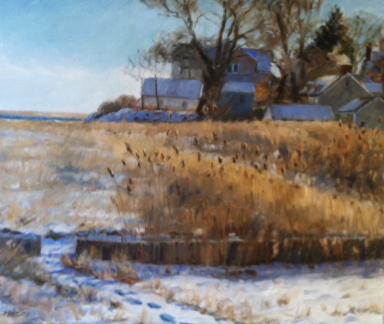 Winter Walk   20 x 24 Oil $2400