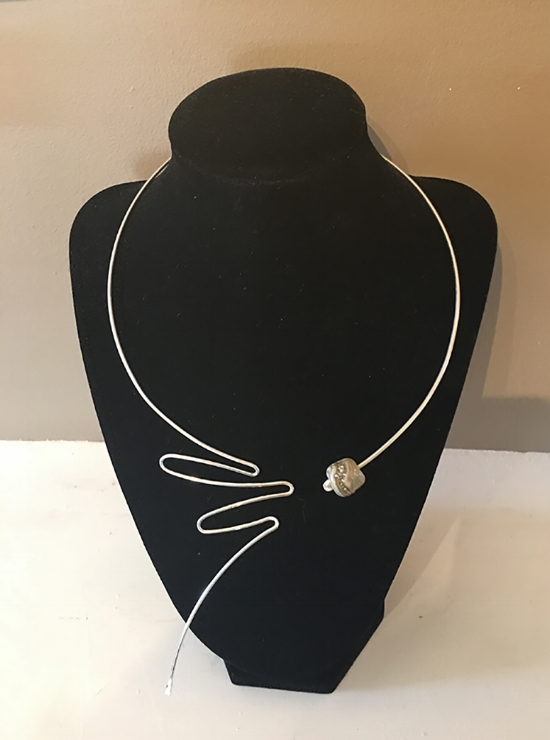 Flair II   Original Necklace in Sterling / $150