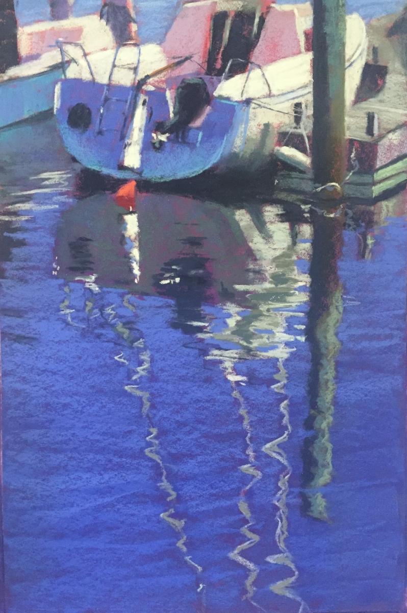 Rudder   18 x 12 Pastel by Dave KapHammer $875