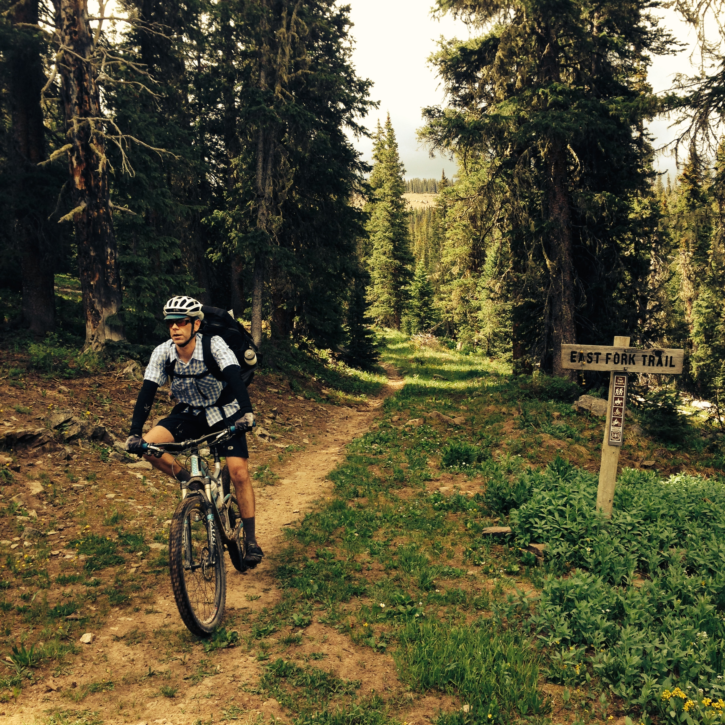 Epic decent on the East Fork Trail