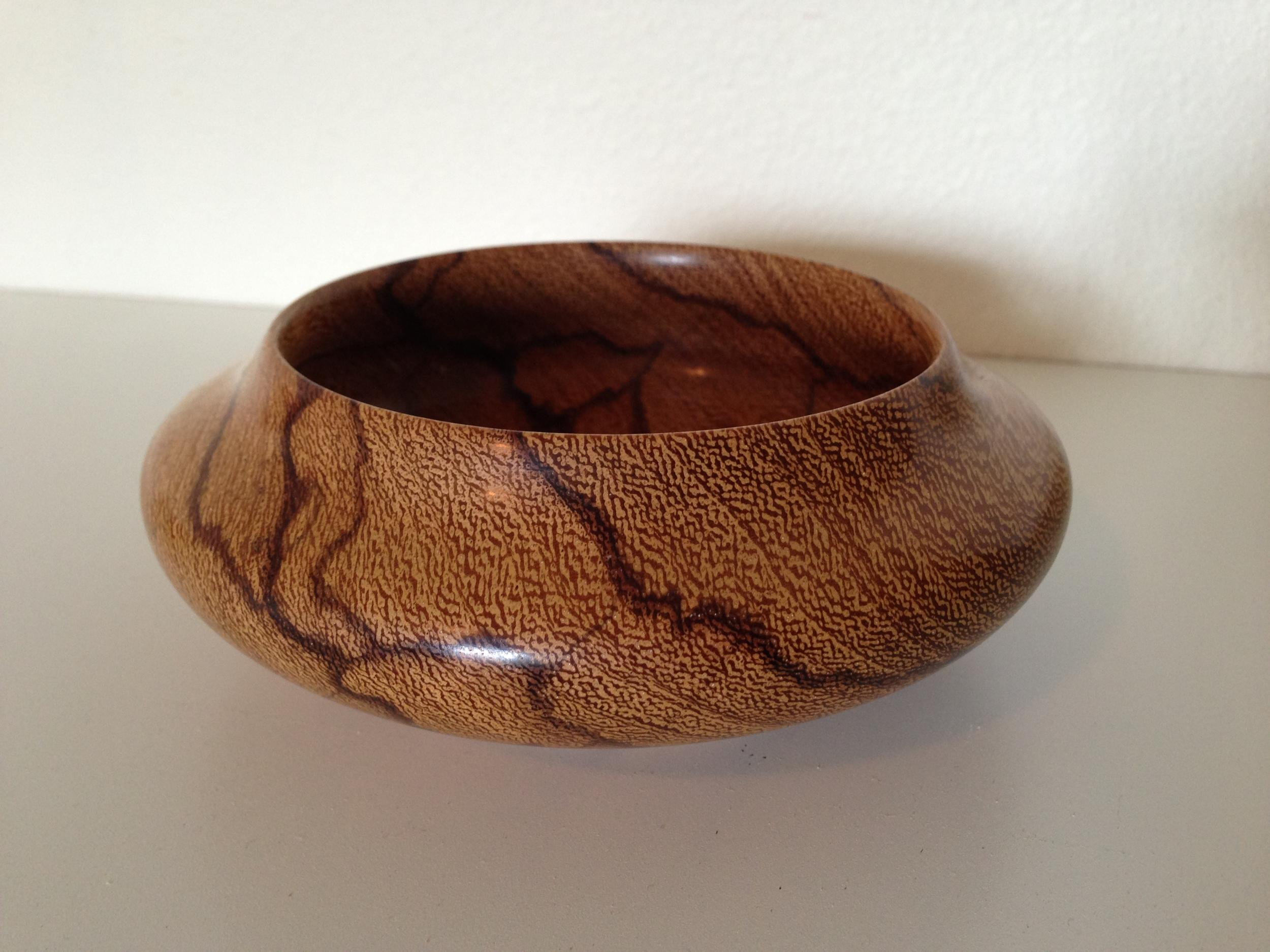 Marble Wood Bowl