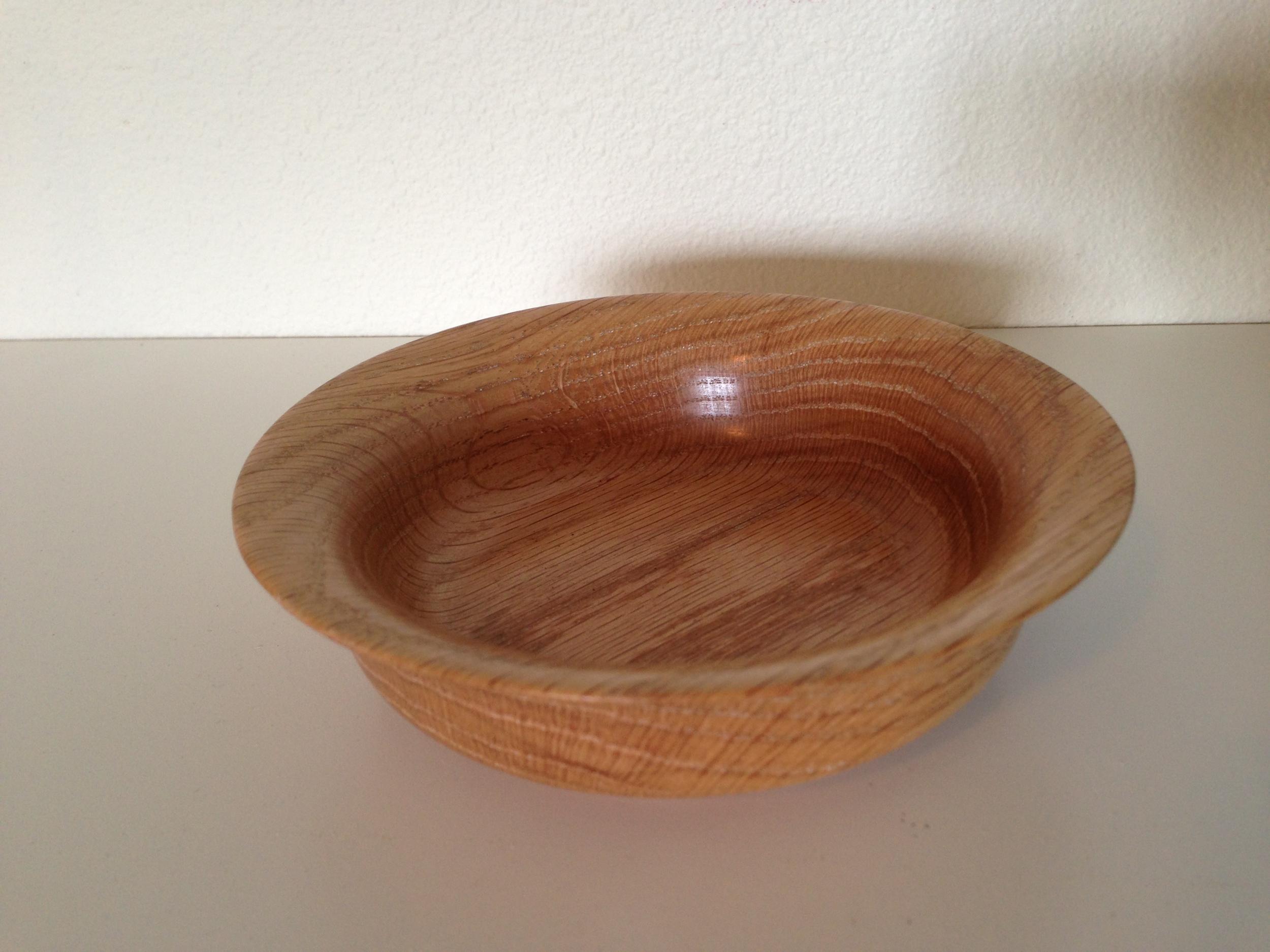 Oak Open bowl