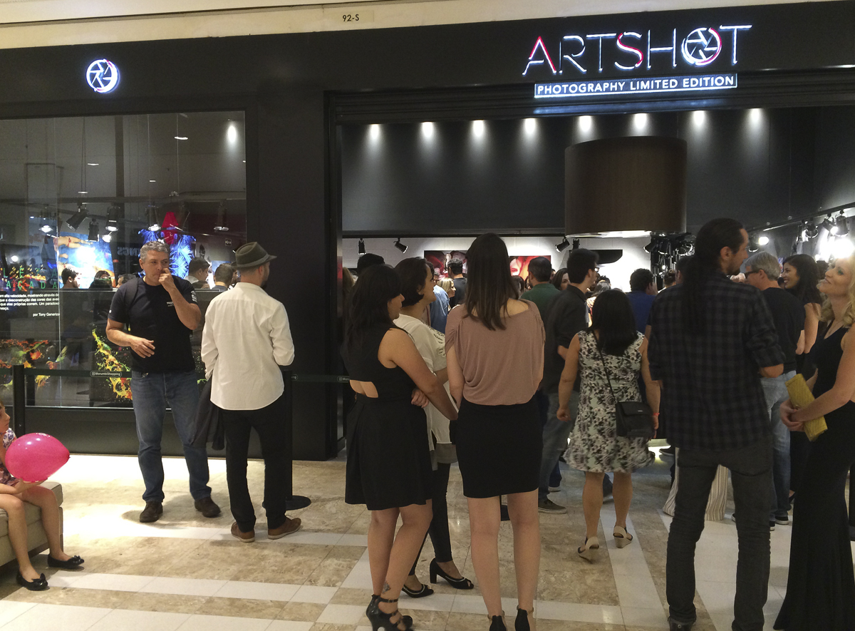 Inauguração Artshot Morumbi - Foto: Marcio Lisa