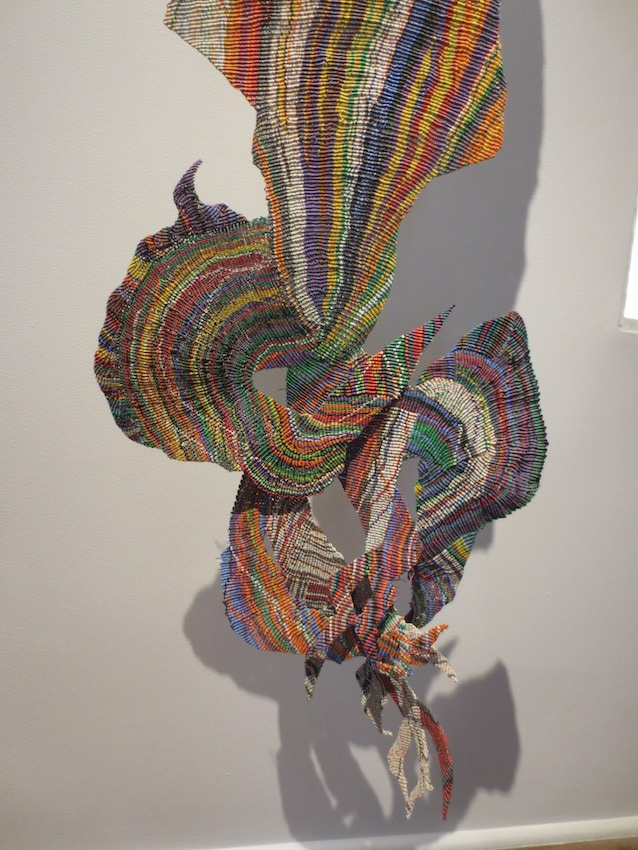 Telephone Wire Wall Hanging (2006), by Clare Graham.