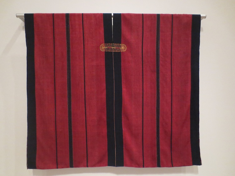 Woman's tunic (phyang) of cotton and silk, ca. 1900. Burma, Asho Chin people.