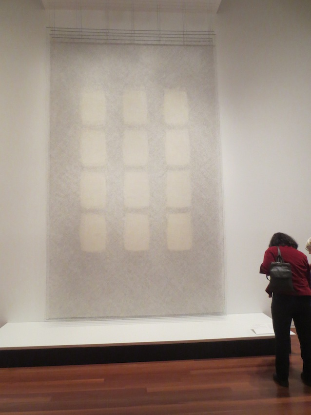 """Wall of Windows"" (1990), by Rebecca R. Medel."