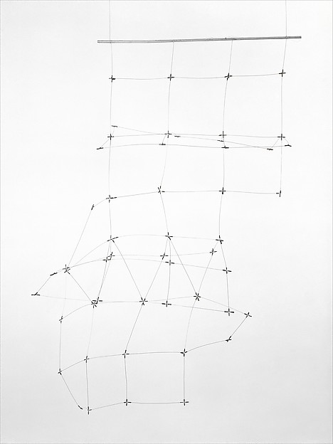 """""""Reticulárea cuadrada 71/6"""" (1971-1976), by Gego (Gertrud Goldschmidt). Colección Patricia Phelps de Cisneros. © Fundación Gego.The Met Breuer, New York."""