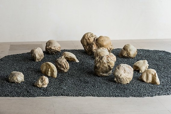 """Tumors Personified"" (1971), by Alina Szapocznikow. Photo by Bartosz Górka. © 2016 Artists Rights Society (ARS), New York / ADAGP, Paris. Zachęta – National Gallery of Art, Warsaw, Poland."