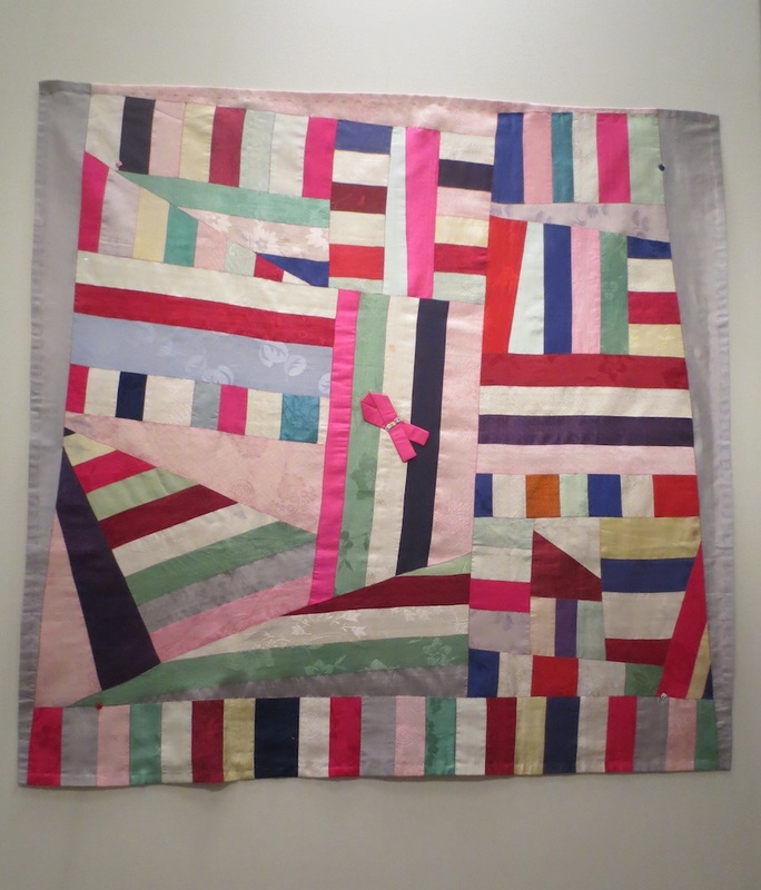 Traditional bojagi, 1950-1960. Silk. Asian Art Museum, San Francisco.