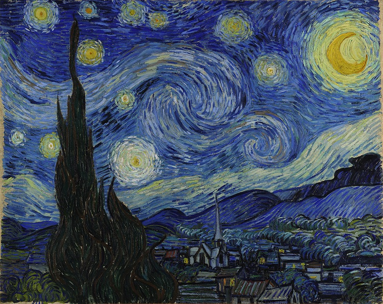 """Starry Night"" (1889), by Vincent van Gogh. Museum of Modern Art, New York City. Source: https://commons.wikimedia.org/"