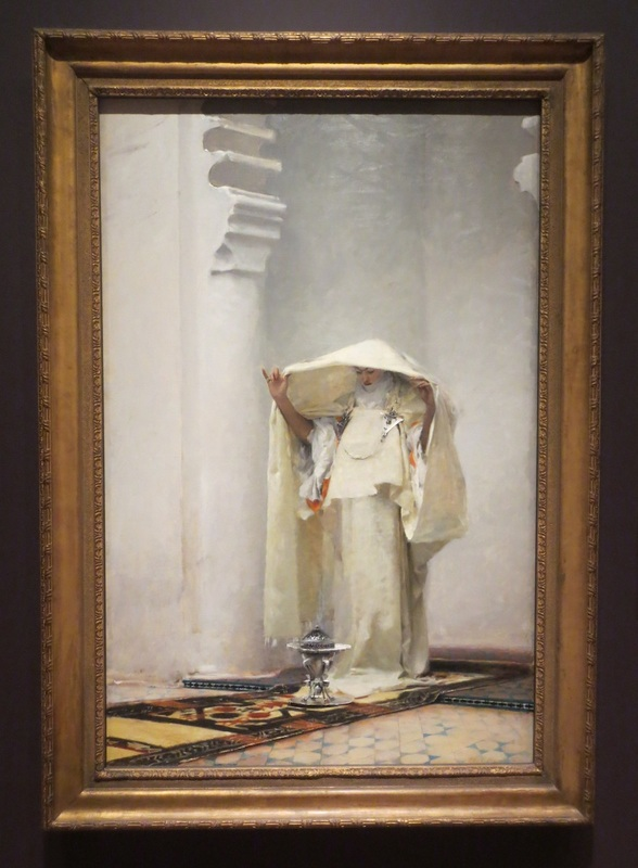 """Fumee d'ambre gris""(Smoke of Ambergris, 1880), by John Singer Sargent. The Clark Art Institute, Williamstown, MA."