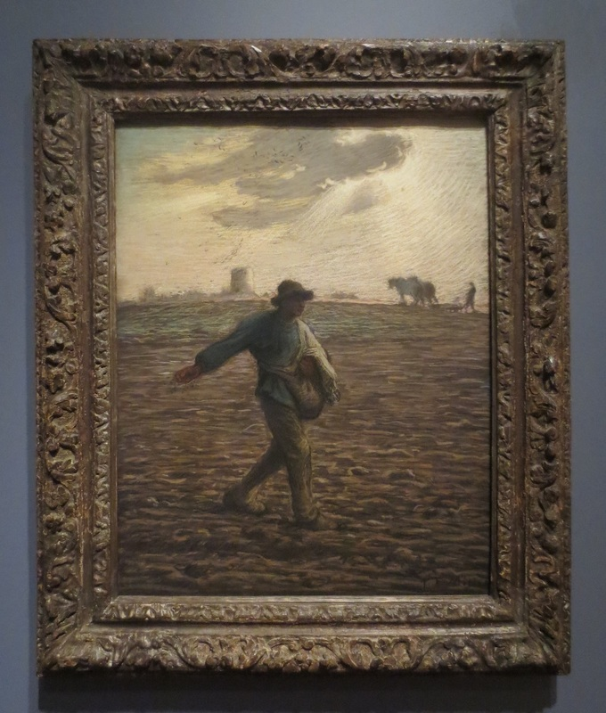 """The Sower"" (c.1865), by Jean-François Millet. The Clark Art Institute, Williamstown, MA."