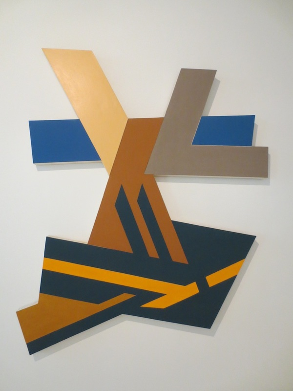 Lanckorona I (1971), by Frank Stella. 108 x 90 in.