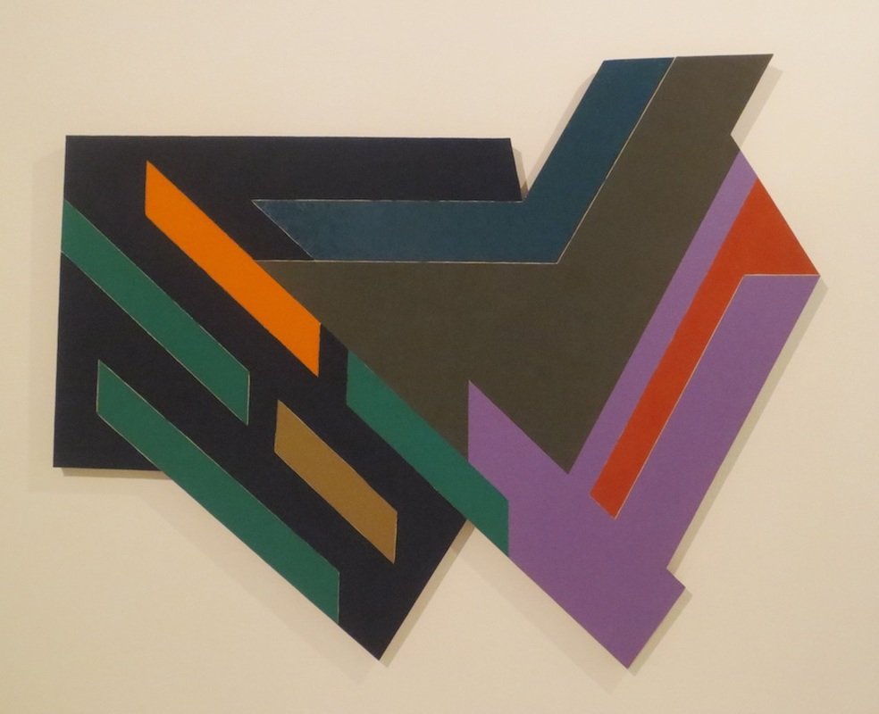 Bogoria IV (1971), by Frank Stella. 90x110x5 in.