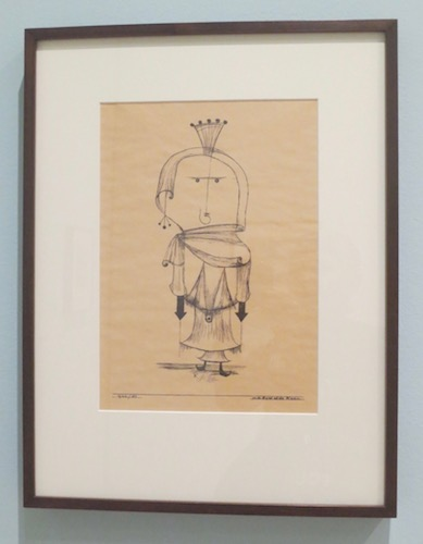 """Die Hexe mit dem Kamme"" (The Witch with the Comb), 1922, lithograph by Paul Klee. Museum of Modern Art, San Francisco."