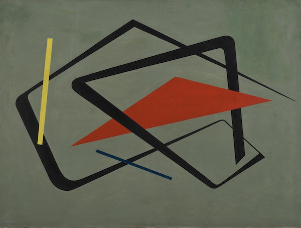 """Untitled"" (1954), by María Freire (Uruguayan, 1917–2015). The Museum of Modern Art, New York.  Source :  www.moma.org/calendar/exhibitions/"