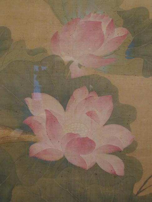 "Detail of ""Summer Lotus"" (1688), by Yun Shouping. Asian Art Museum, San Francisco."