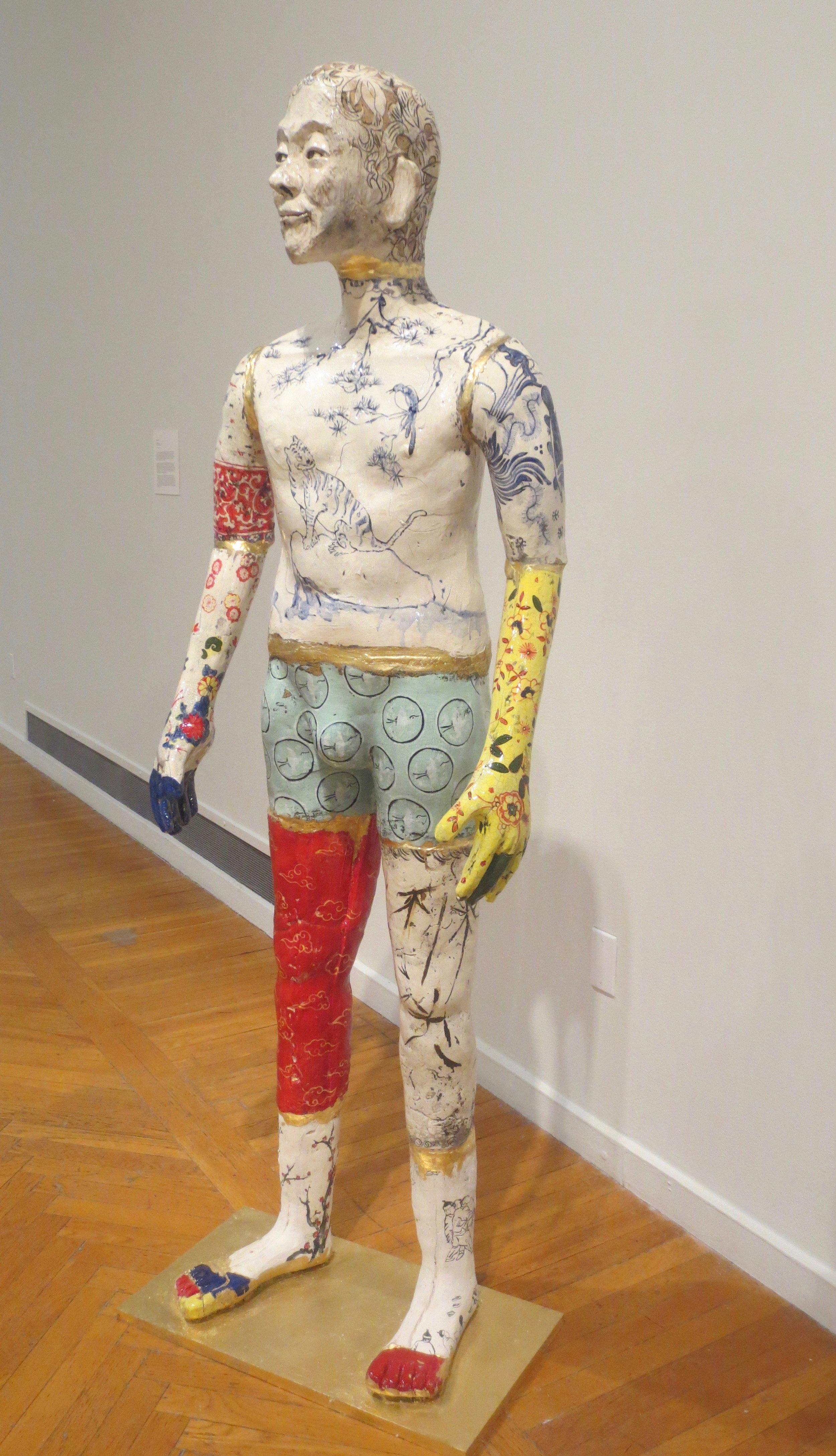 """Chinktsugi"" (2017), by Nicholas Oh."