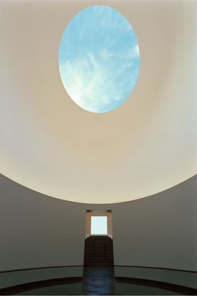 """ Skyspace. Twilight Resplendence"" (2012), by James Turrell. The Museum San, Oak Valley, Wonju, South Korea.  Source: http://www.museumsan.org"