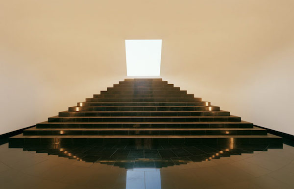 """Horizon  Room. Lost Horizon"" (2012), by James Turrell. The Museum San, Oak Valley, Wonju, South Korea.  Source: http://www.museumsan.org"