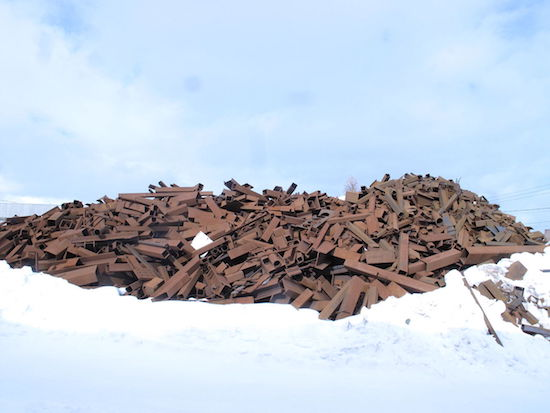 Scrap metal collecting site in Akaa, Finland. Source: https://commons.wikimedia.org/