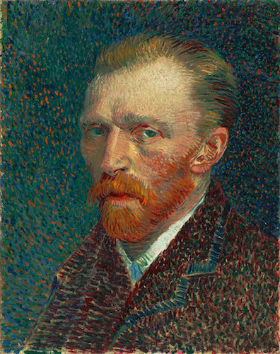 """Self-Portrait"" (1887), by Vincent Van Gogh. Source: https://commons.wikimedia.org/"