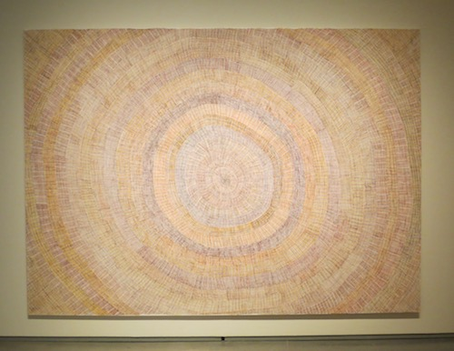 """Sun Mat"" (2015), by Regina Pilawuk Wilson. Nevada Museum of Art, Reno."