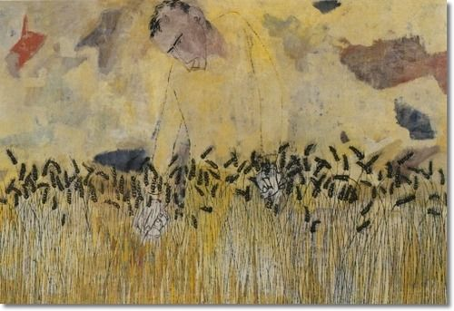"""Beatitudes"" (1952), by Ben Shahn. Source:  pinterest.co.uk"