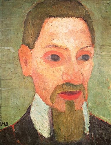 Portrait of Rainer Maria Rilke (1906), by Paula Modersohn-Becker. Source:  commons.wikimedia.org/