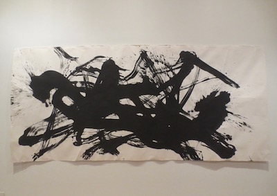 """Civilization Landscape #1"" (2003), by Qin Feng. Ink on paper."