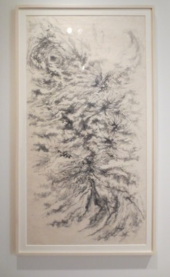 """Mindscape"" (2011), by Arnold Chang. Ink on paper."