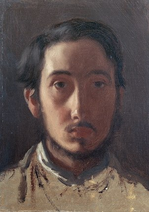"""Self-Portrait"" (ca 1857), by Edgar Degas. Source: commons.wikimedia.org"
