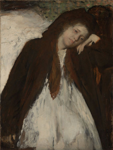 """The Convalescent"" (ca 1872-1887), by Edgar Degas. The Getty Center, Los Angeles. Source: commons.wikimedia.org/"
