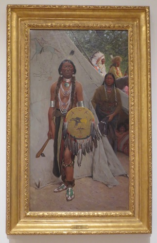 Indians  (1900), by Henry Farny. Oil on canvas. Tacoma Art Museum, Tacoma, WA.