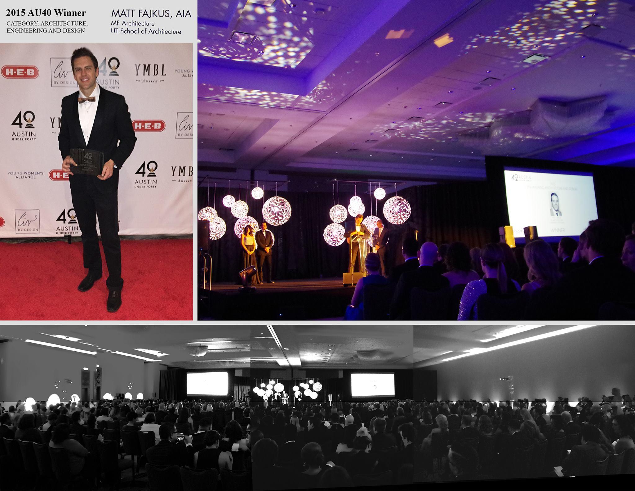 2015 AU40 Award ceremony