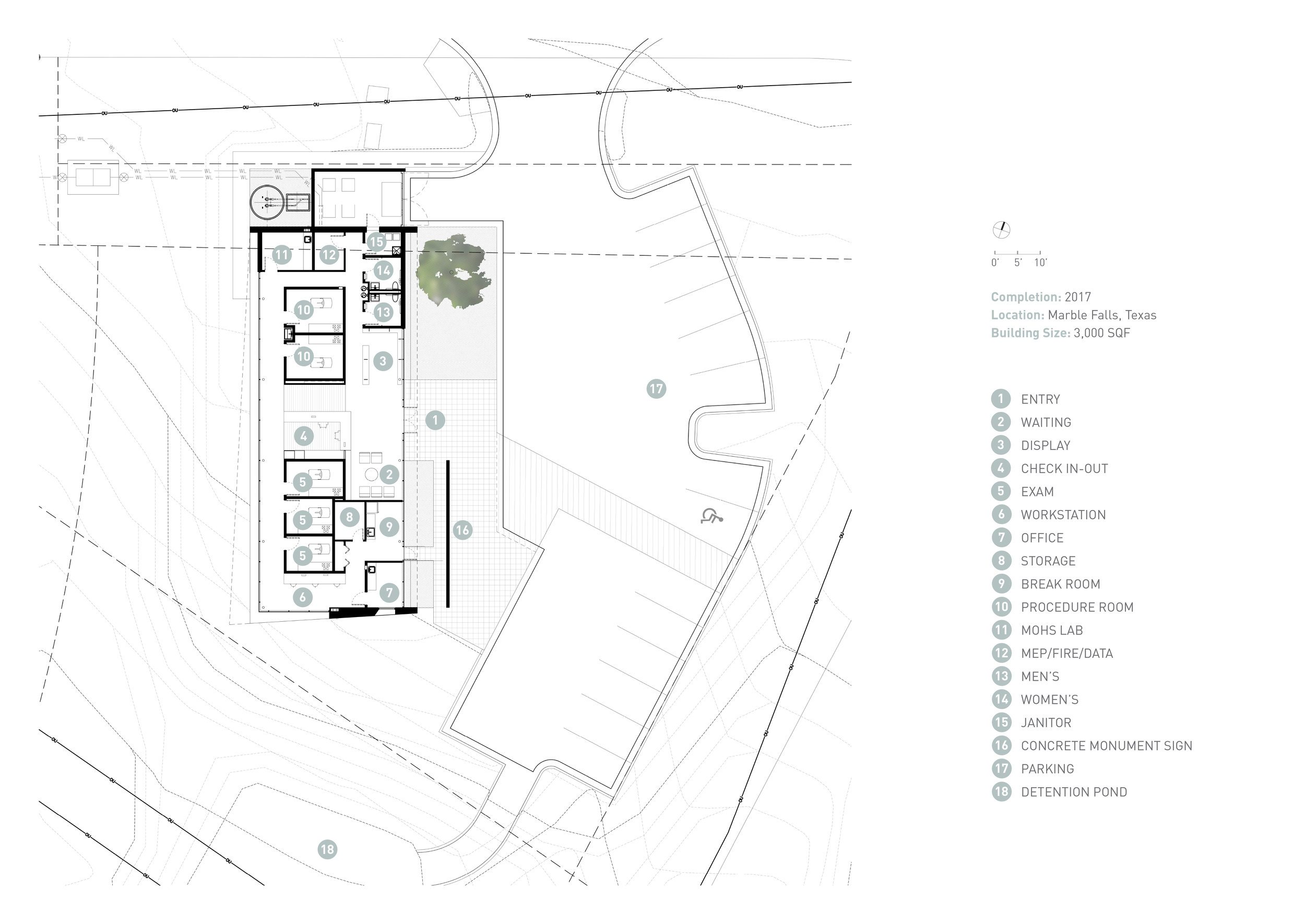 19 Westlake Dermatology Marble Falls by Matt Fajkus Architecture_Graphic plan.jpg